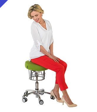 labor hocker mit bioswing reduzieren und vermeiden sie r ckenschmerzen am arbeitsplatz. Black Bedroom Furniture Sets. Home Design Ideas